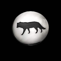 Wolf Shadows Pendant